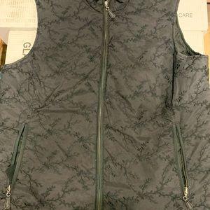 Eddie Bauer women's down feather vest